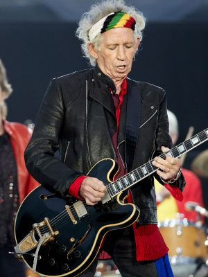 Mandatory Credit: Photo by Hayoung Jeon/EPA-EFE/REX/Shutterstock (9724994l) Keith Richards The Rolling Stones in concert in Berlin, Germany - 22 Jun 2018 Keith Richards (C) of the British Rock band The Rolling Stones performs during a concert at the Olympiastadion in Berlin, Germany, 22 June 2018. About 67,000 tickets for The Rolling Stones 'No Filter' tour concert were sold out.