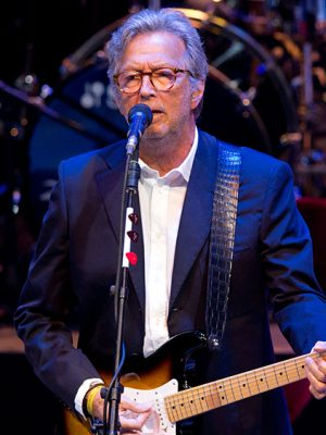 Mandatory Credit: Photo by Andrew Fosker/REX/Shutterstock (4914648au) Eric Clapton Beefy's Big Bash, Charity Fundraiser, Wormsley Estate, Buckinghamshire, Britain - 25 Jul 2015 Eric Clapton performs in the Wormsley Opera Pavilion for Sir Ian Botham - Beefy's 60th Birthday Bash