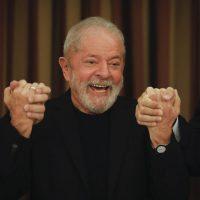 Ex-Presidente Lula da Silva durante reunão com parlamentares do PT, no hotel San Marco, em Brasília.  Sérgio Lima/Poder360 18.02.2020